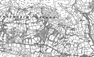 Old Map of Wern Tarw, 1897