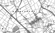 Old Map of Werrington, 1899 - 1900