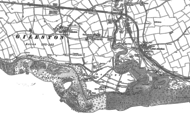 Old Map of West Aberthaw, 1897 - 1914