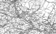 Old Map of West Blackdene, 1895 - 1896