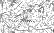 Old Map of West Compton, 1886