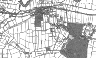Old Map of West Cowick, 1888 - 1904