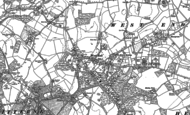 Old Map of West End, 1895 - 1896