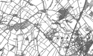Old Map of West Ewell, 1894 - 1895