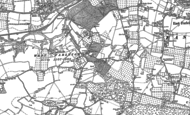 Old Map of West Farleigh, 1895