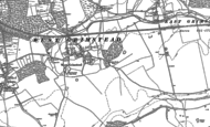 Old Map of West Grimstead, 1908 - 1924