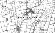Old Map of West Halton, 1885 - 1906