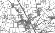 Old Map of West Holywell, 1895 - 1896