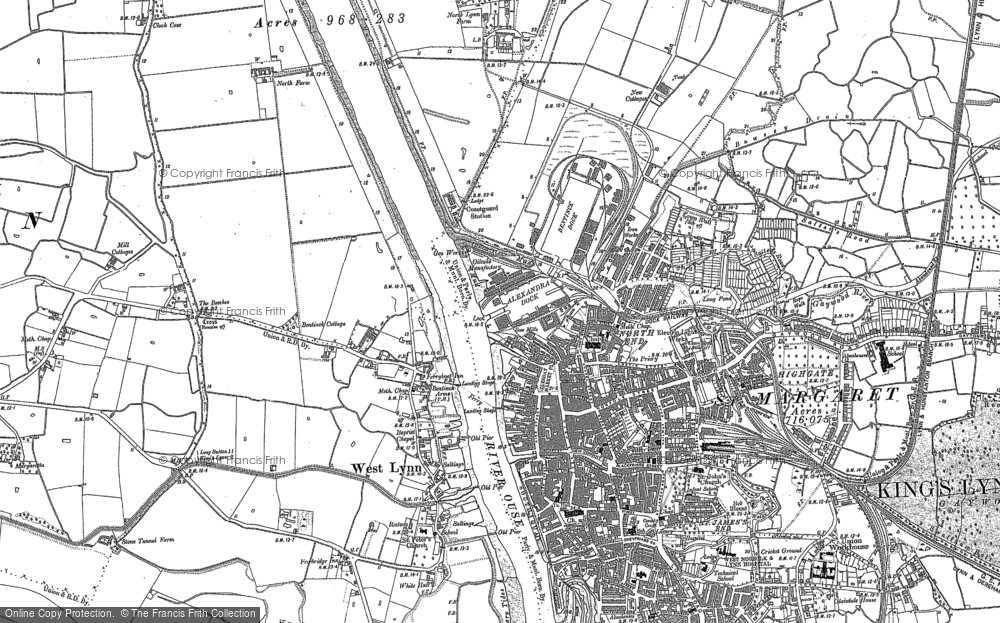 Old Maps of Kings Lynn Francis Frith