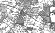 Old Map of West Malling, 1895
