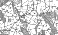 Old Map of West Marden, 1910
