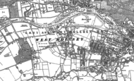 Old Map of West Molesey, 1894 - 1913