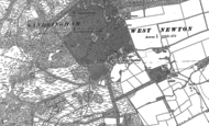 Old Map of West Newton, 1884 - 1904