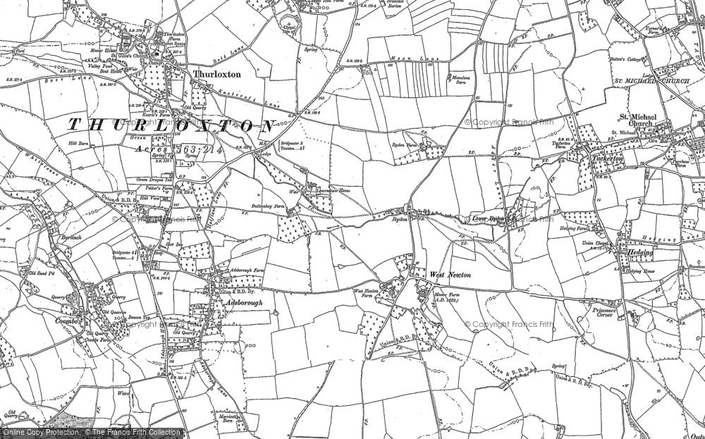 West Newton, 1886 - 1887