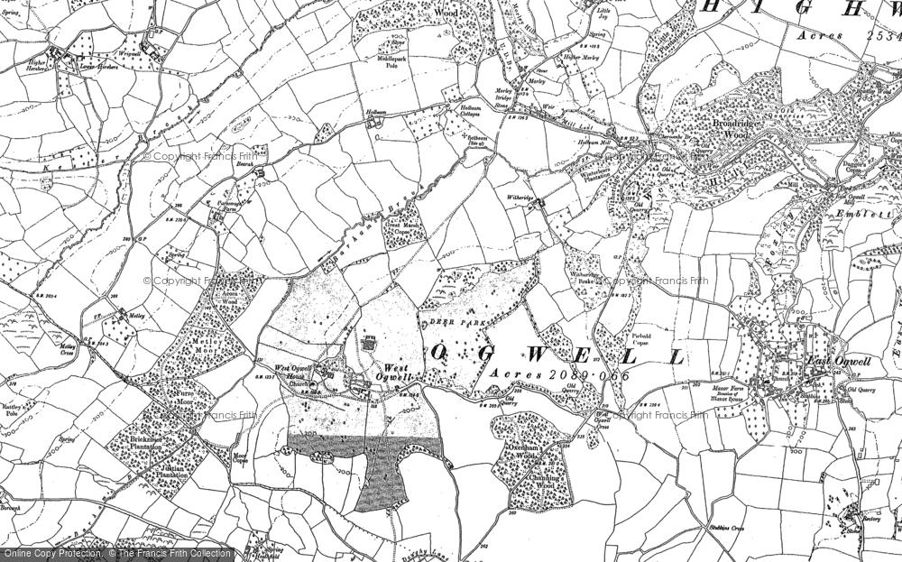 West Ogwell, 1886 - 1887