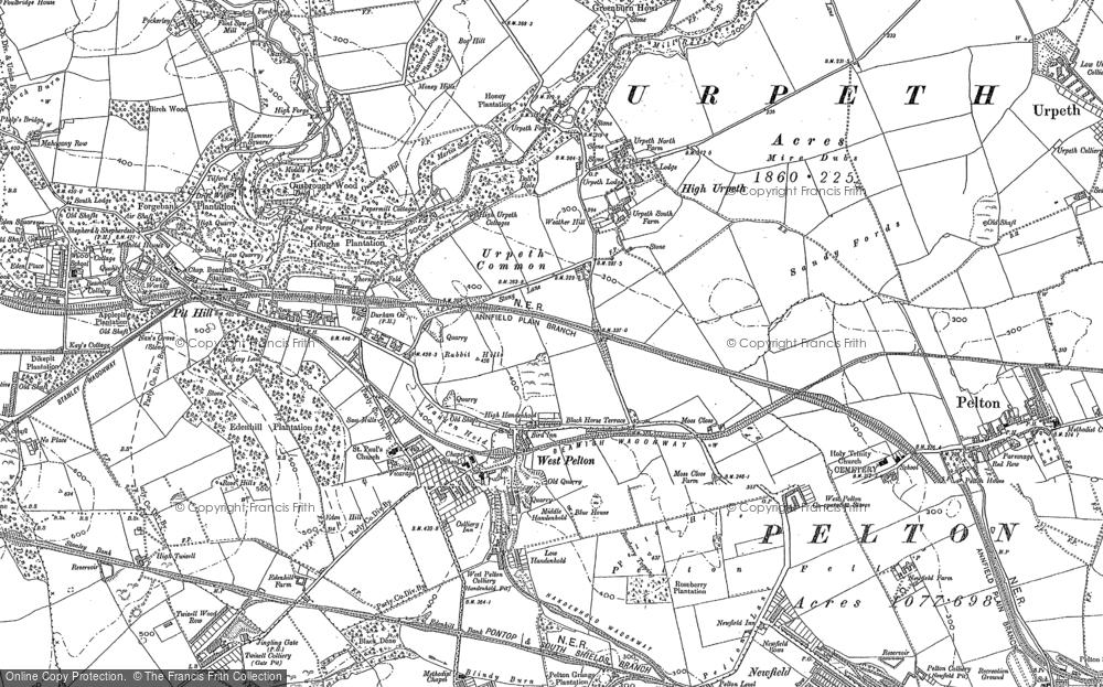 West Pelton, 1895