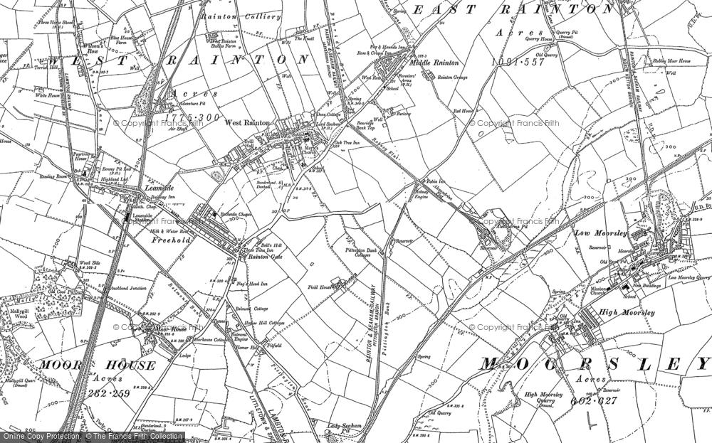 West Rainton, 1895