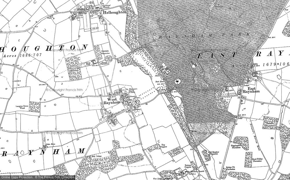 West Raynham, 1884 - 1885