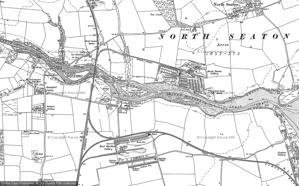 West Sleekburn, 1896