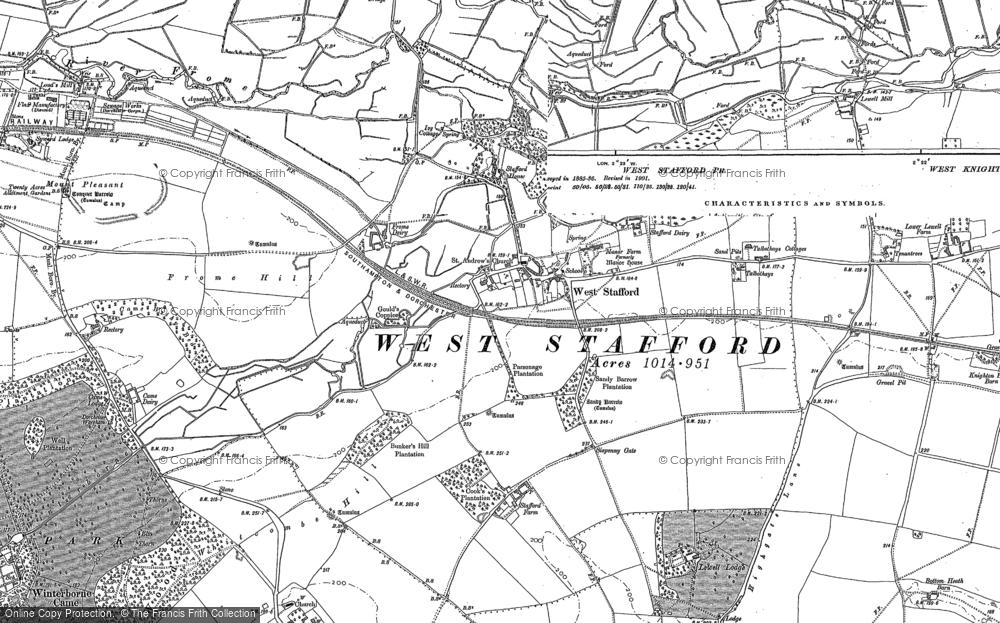 West Stafford, 1886 - 1887