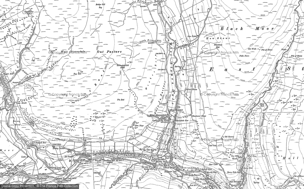 West Stonesdale, 1891 - 1950
