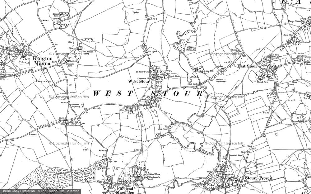 West Stour, 1900 - 1901