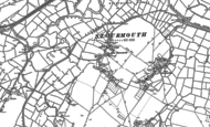 Old Map of West Stourmouth, 1896