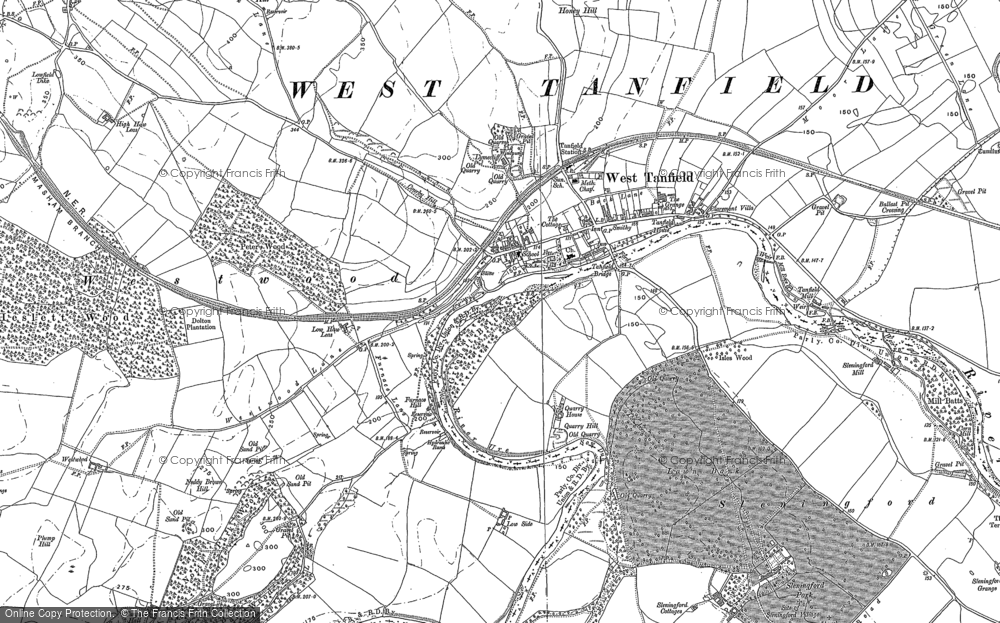 West Tanfield, 1890