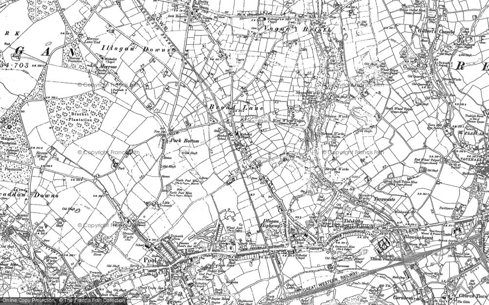 West Tolgus, 1878 - 1906