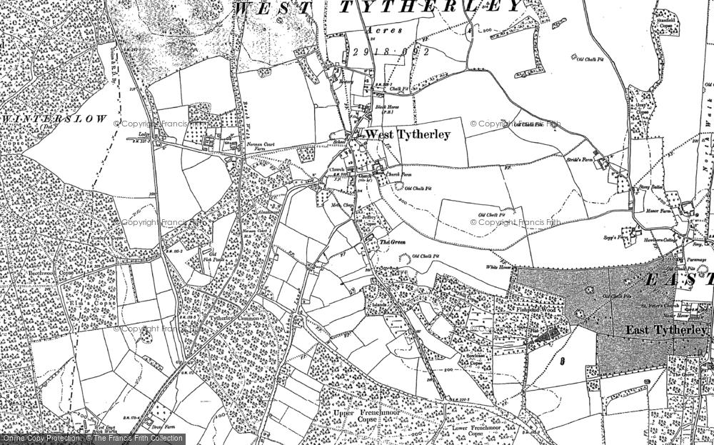 West Tytherley, 1895 - 1908