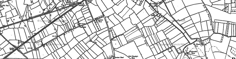 Old map of West Wick in 1902