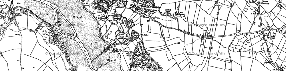 Old map of West Williamston in 1906
