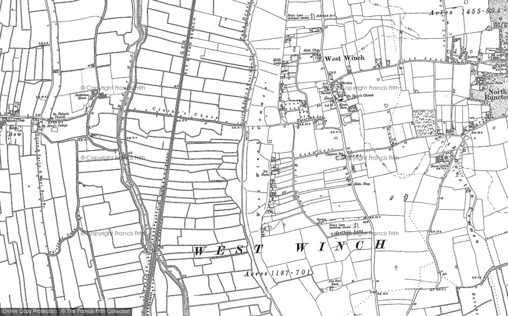 West Winch, 1884
