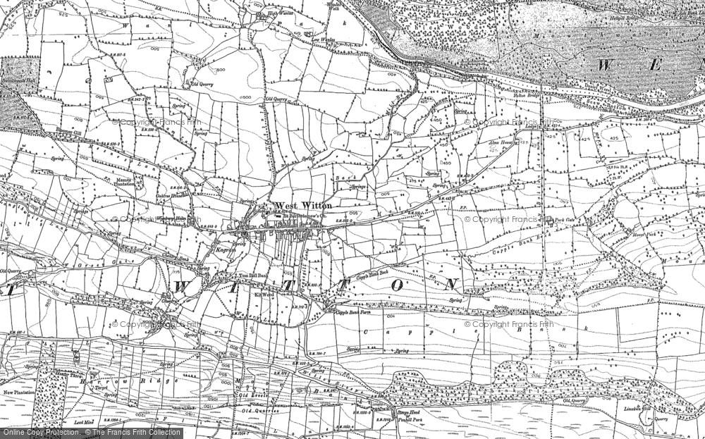 West Witton, 1891