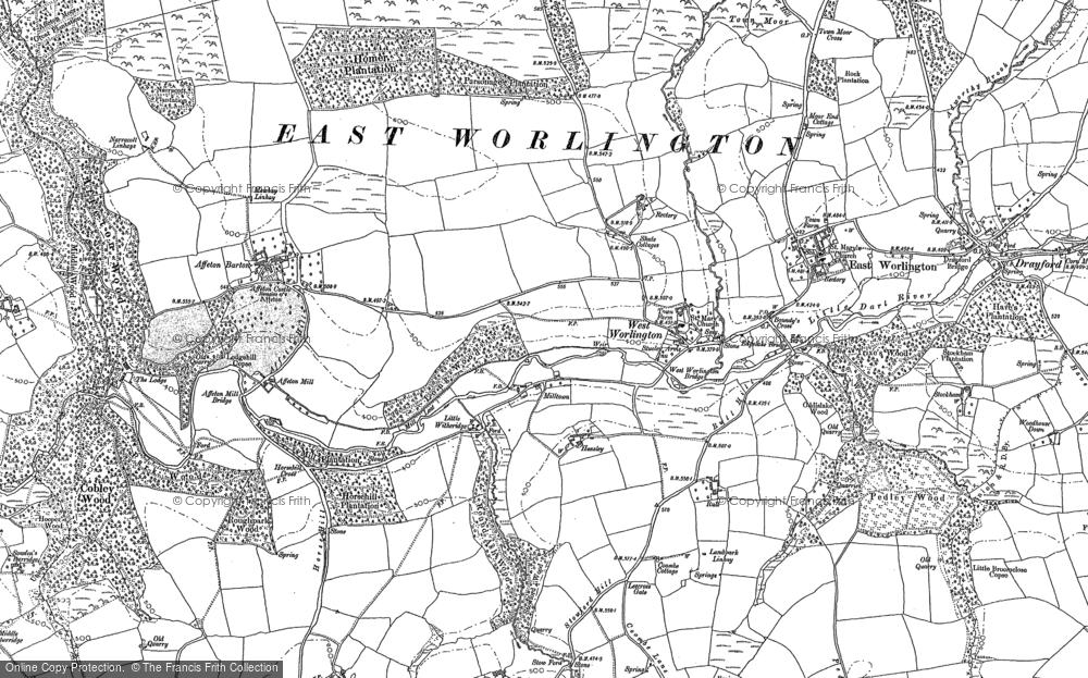 West Worlington, 1887