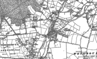 Old Map of Westbourne, 1909 - 1910