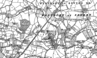 Old Map of Westbury-on-Severn, 1879 - 1884