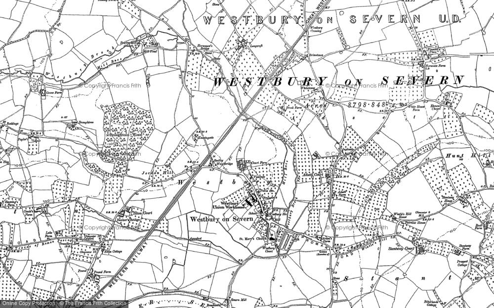 Westbury-on-Severn, 1879 - 1884
