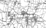 Old Map of Westergate, 1847 - 1896