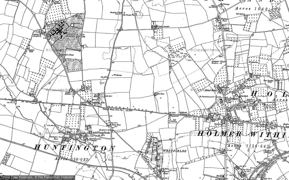 Westfields, 1885 - 1886