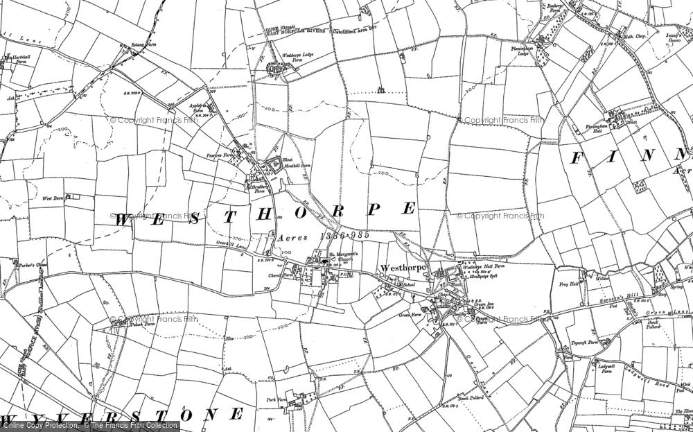 Westhorpe, 1884