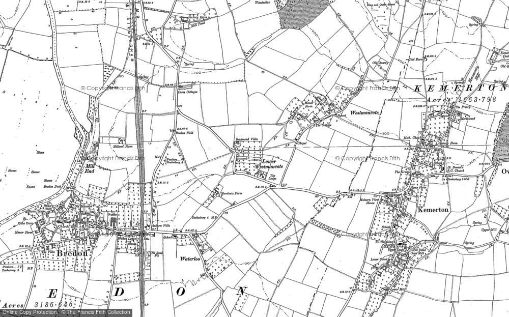 Westmancote, 1884 - 1900