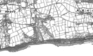 Old Map of Weston, 1888 - 1903