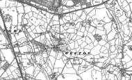 Old Map of Weston, 1897 - 1908