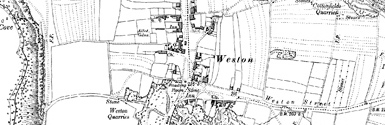 Old map of Blacknor centred on your home