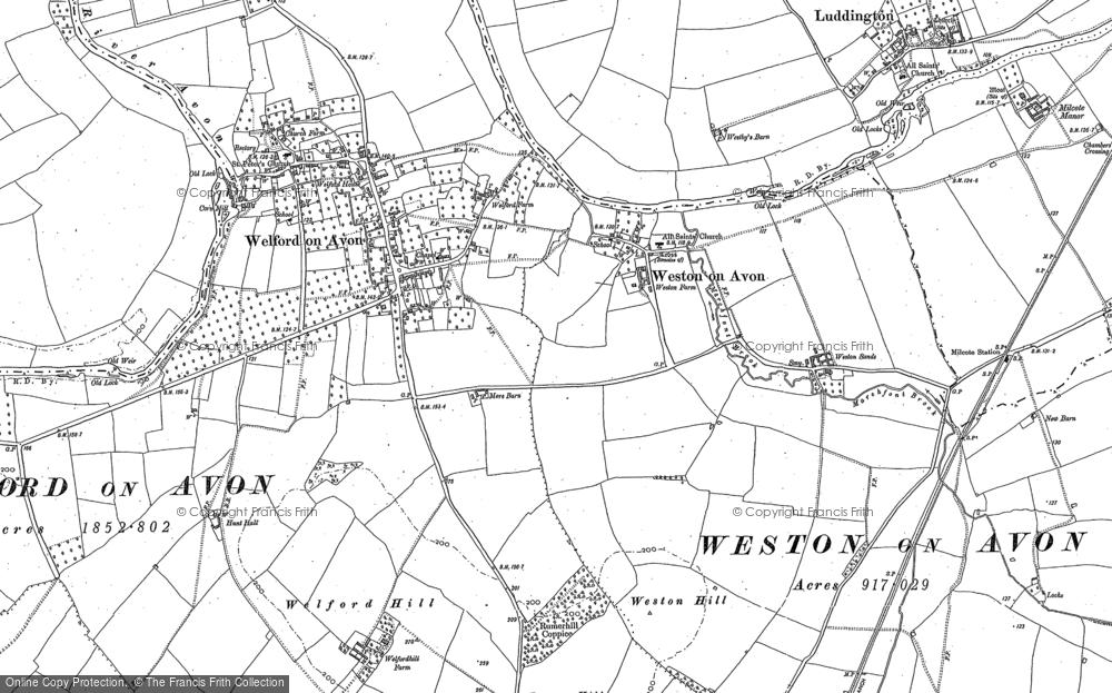Weston-on-Avon, 1883 - 1900