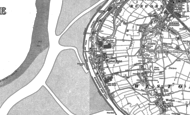Old Map of Weston Point, 1897 - 1908
