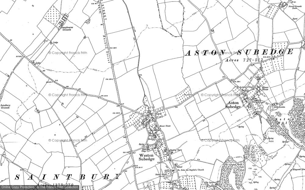 Weston-sub-Edge, 1880 - 1900