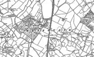 Old Map of Westoning, 1881 - 1882