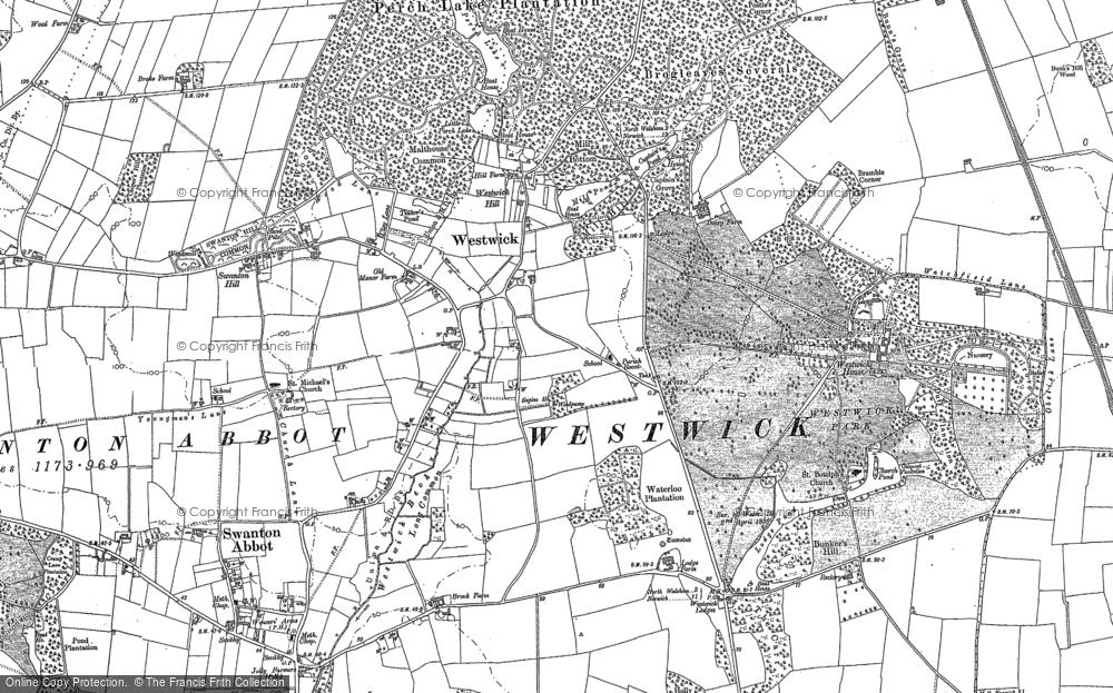 Westwick, 1884 - 1885